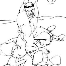 Small Picture The Incredible Hulk Coloring Pages Free Superheroes Coloring 14785