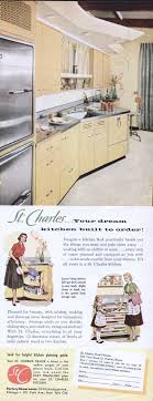 st charles steel kitchen cabinets 1956 ad picture