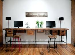 eclectic home office. Reclaimed Wood Desk Desks And Home Office Eclectic I