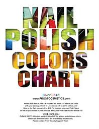 Collection Frost Color Chart Magcloud