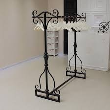 vintage garment rack. Simple Rack Floor Display Clothing Rack Hangers Wrought Iron Vintage  Racks Island Shelf Double Pole Online With 32488Piece On Xwt5242u0027s  Intended Garment