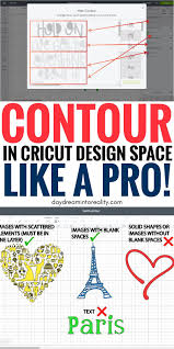 Contour Design Space How To Contour In Cricut Design Space And Why Isnt Working