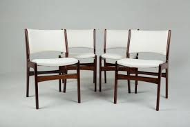 solid rosewood chairs by erik buch 1960s set of 4 2