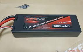 <b>Аккумулятор VANT Battery Li</b>-<b>Po 7.4</b>V 7600мАч 50C