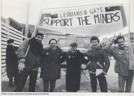 1984 85 lesbian and gay miners support group
