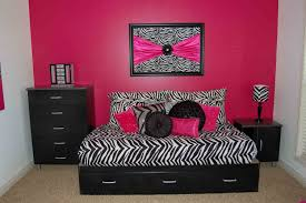 pink zebra bedroom furniture designs