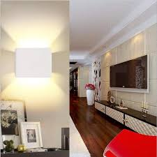 aliexpress com 3w led indoor wall lamp surface mounted cube wall light spot up and down wall light indoor lighting bracket lamp espejo forja from