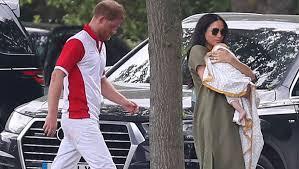 Назван цвет волос сына принца Гарри и Меган Маркл - Газета.Ru