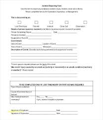 First Aid Incident Report Form Template Forms Templates