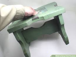 How to Spray Paint Furniture 12 Steps with wikiHow