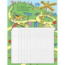 Eureka Classroom Dr Seuss Reading Chart