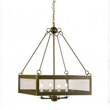 calibougie square with seeded glass pendant lighting 13919