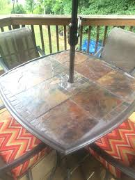 patio ideas patio table glass replacement toronto round glass top patio table and chairs glass