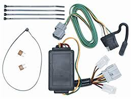 amazon com vehicle to trailer wiring harness connector for 07 11 vehicle to trailer wiring harness connector for 07 11 honda element plug play