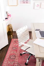 create a functional workstation chic office decor