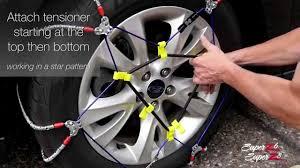 Super Z Tire Chain Size Chart Super Z6