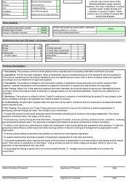 product spec sheet template spec sheet template