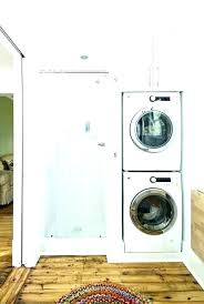 stackable washer and dryer in closet laundry closet ideas home depot remodeling kitchen ideas stackable washer stackable washer and dryer in closet