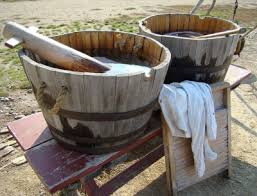 washing clothes and household linen 19th century laundry methods and equipment
