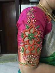 blouse hand design images