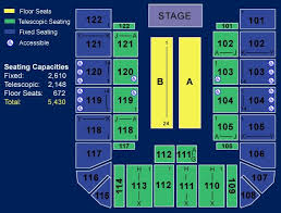 Berry Events Center Seating Chart Credible Bren Center Seating Chart 2019