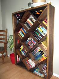 ... Articles With Pallet Wine Rack Bookshelf Tag: Bookshelf Wine Rack Large  size ...