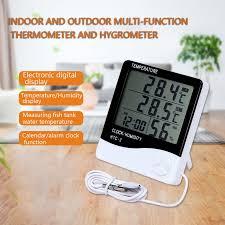 LCD Digital Temperature Humidity Meter <b>HTC</b> 1 <b>HTC</b> 2 <b>Indoor</b> ...