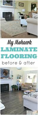 My Mohawk Laminate Flooring Before And After   Rug Giveaway Too