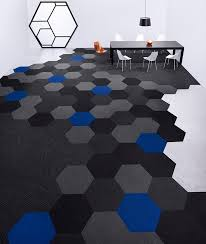 Interesting Modern Carpet Tile Patterns Hexagon Takes Tiles To The Next Level With Design