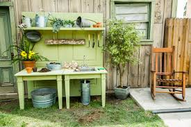 Potting Bench The Ultimate Diy Potting Bench Home Family Hallmark Channel