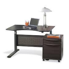 shop jesper office espresso adjustable standing desk at lowescom