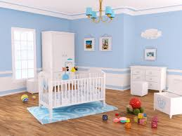 Small Room Baby Boy Blue Nursery Ideas Perfect Decorating Room White Wooden  Bedding Furniture Area Rugs