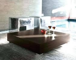 contemporary square coffee table all