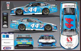 2016 Nascar Team Chart 2016 Nascar Sprint Cup Series Paint Schemes Team 44