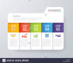 Tab Website Design Infographic Tab Index Design Vector And Marketing Template