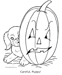 Small Picture Free printable Halloween dog coloring pages Puppy