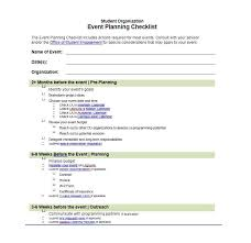 Free Event Planner Templates 50 Professional Event Planning Checklist Templates