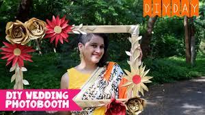 diy photo booth frame wedding sangeet mehendi diy day wedding you