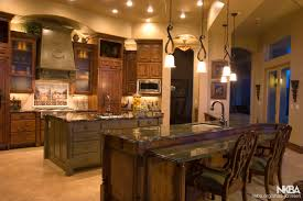 Kitchen Designs With 2 Islands Tuscan Kitchen With 2 Islands Nkba