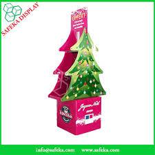 funko tree shape folding displays commercial retail pop floor stand shelf cardboard floor display for