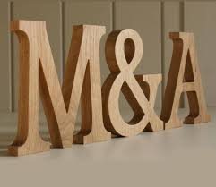 wooden letters traditional oak decorative letters