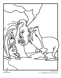 Small Picture The Grinch Who Stole Christmas Coloring Pages The Grinch and Max