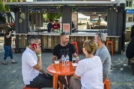 larkin beer garden opens for the summer may 31 2018