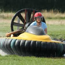 hovercraft flying for two image