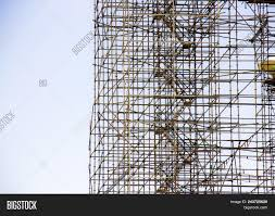 Scaffold Builders Builders On Scaffold Image Photo Free Trial Bigstock