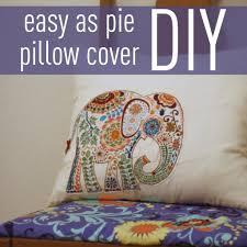 envelope pillow cover diy