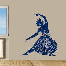 43939x63939 indian woman wall decals belly by