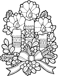 Christmas Coloring Pages For Adults Coloringstar