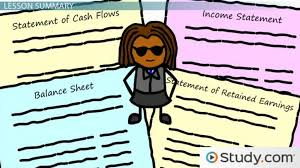 how to prepare the basic balance sheet and statement of cash flows lesson transcript study com
