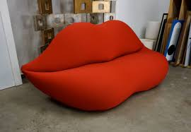 The History of the Bocca Sofa